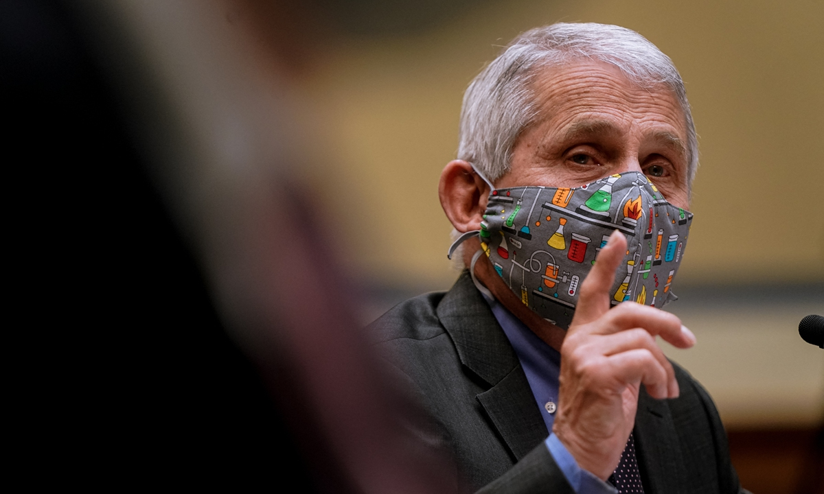 Anthony Fauci Photo: AFP