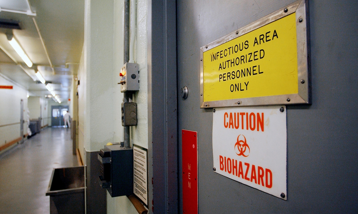 The US Army Medical Research Institute of Infectious Diseases at Fort Detrick Photo: AP