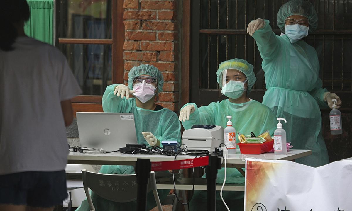 Taiwan coronavirus Photo:VCG