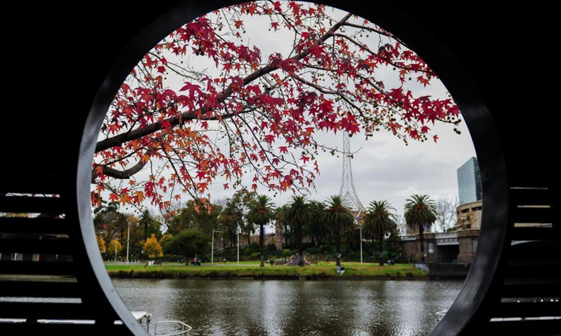 Photo taken on May 28, 2021 shows a view in Melbourne, Australia. The Australian state of Victoria went into the fifth day of its lockdown on Tuesday with the number of COVID-19 cases in the latest outbreak having risen to 54.Photo:Xinhua