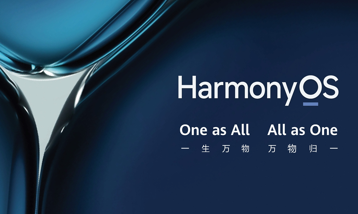 Huawei launches HarmonyOS 2.0 in ambitious move to counter US ban,  dominance - Global Times