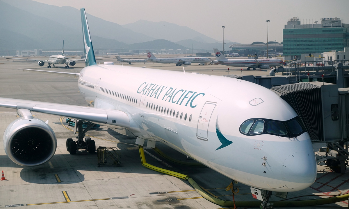Cathay Pacific Photo: cnsphoto