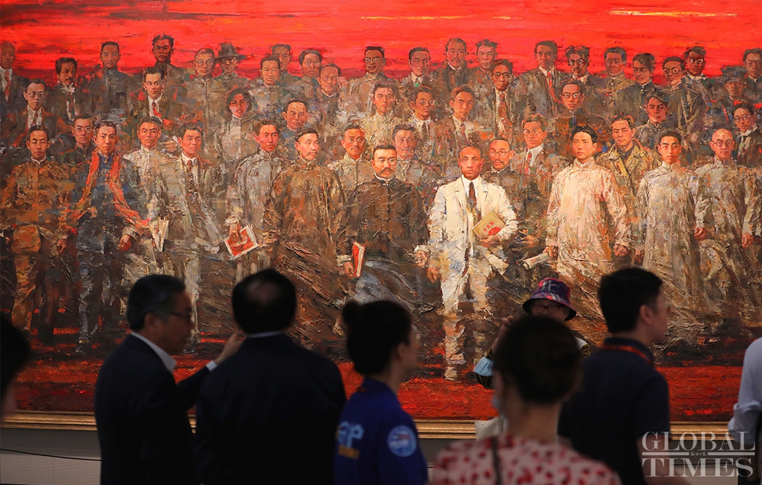Memorial of CPC's first congress opens in Shanghai Photo:Yang Hui/GT