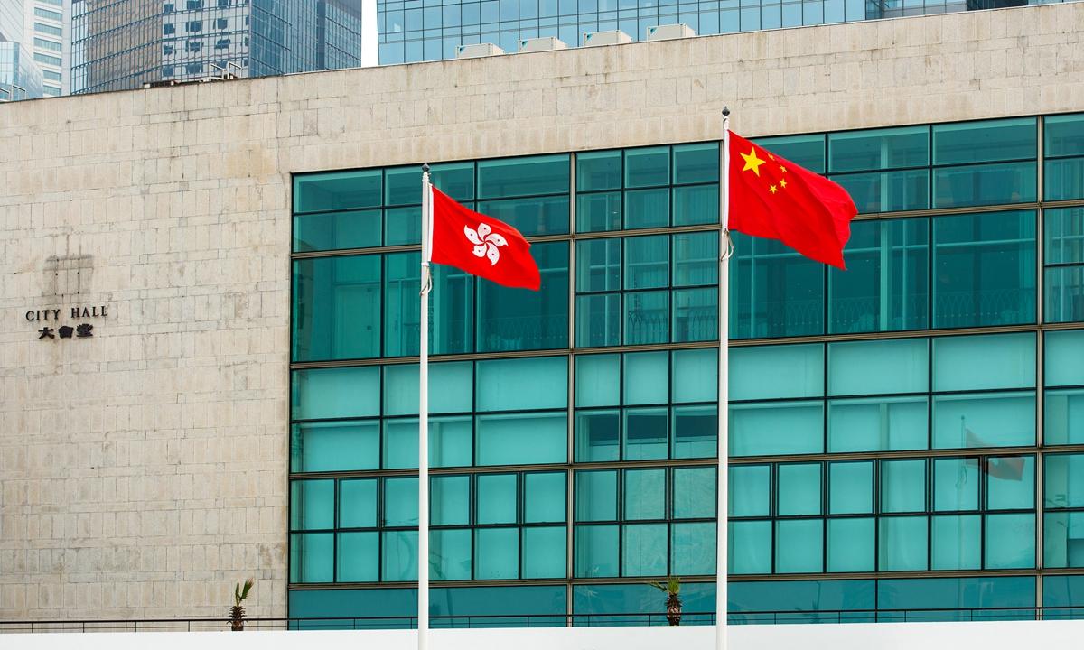 Hong Kong File photo:VCG
