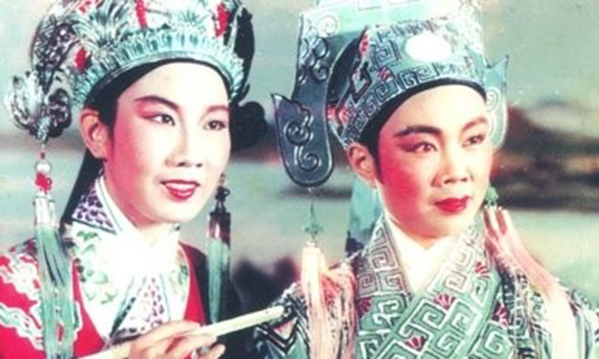 A Still of the Chinese Color Film <em>The Butterfly Lovers</em>