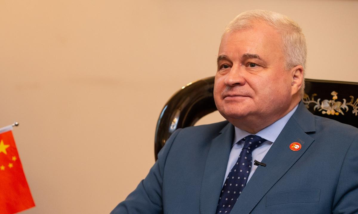 Russian Ambassador to China Andrey Denisov Photo: Li Hao/GT