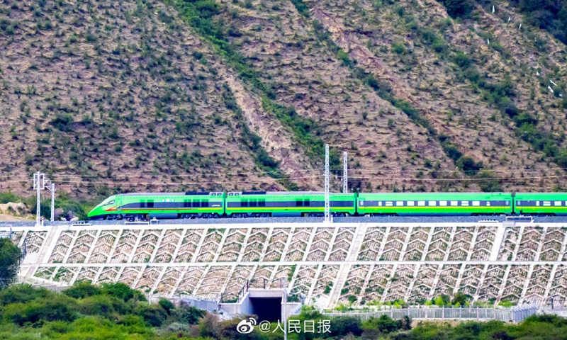 Tibet-Bullet Train
