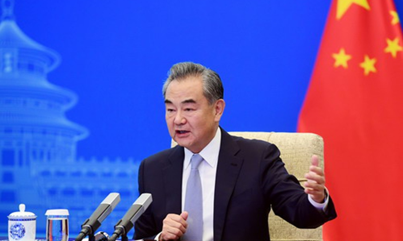 Chinese State Councilor and Foreign Minister Wang Yi Photo: fmprc.gov.cn