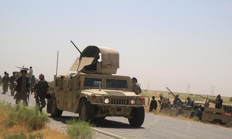 Security Situation In Afghanistan Worsens As Taliban Intensifies Activities Global Times
