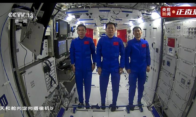 Photo: screenshot from CCTV