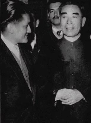 Premier Zhou Enlai meets with Arce