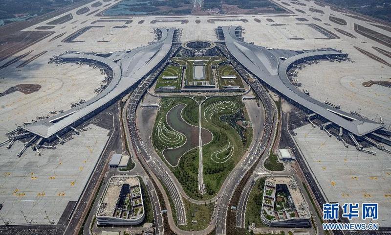 Chengdu Tianfu International Airport Photo: Xinhua