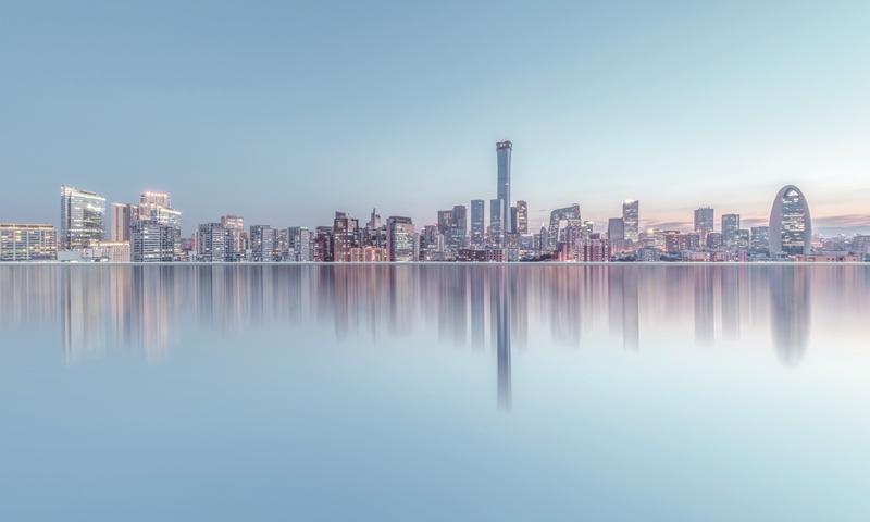 The Beijing skyline Photo: VCG