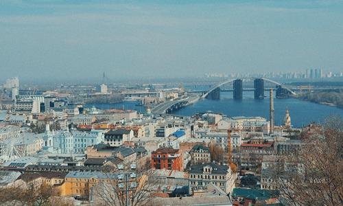 A view of Kiev, Ukraine Photo: Unsplash