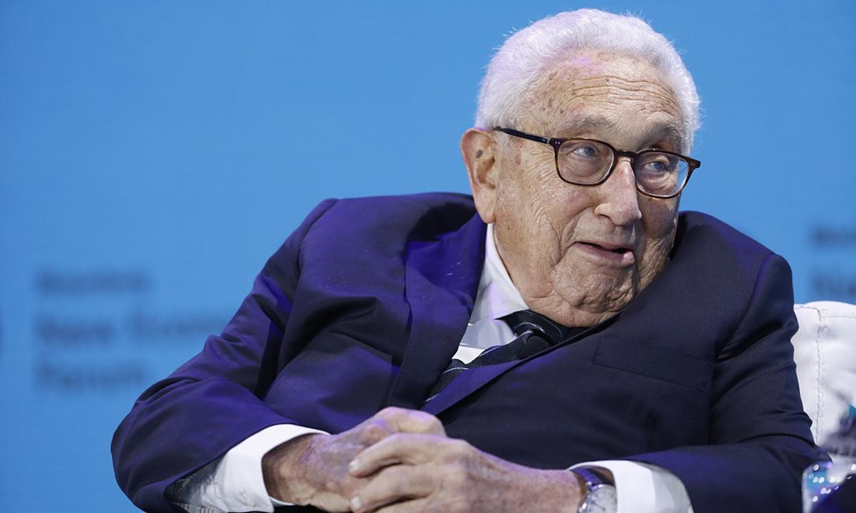 Kissinger. Photo: VCG