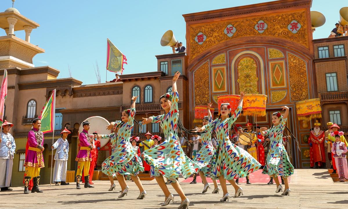 Xinjiang Photo: VCG