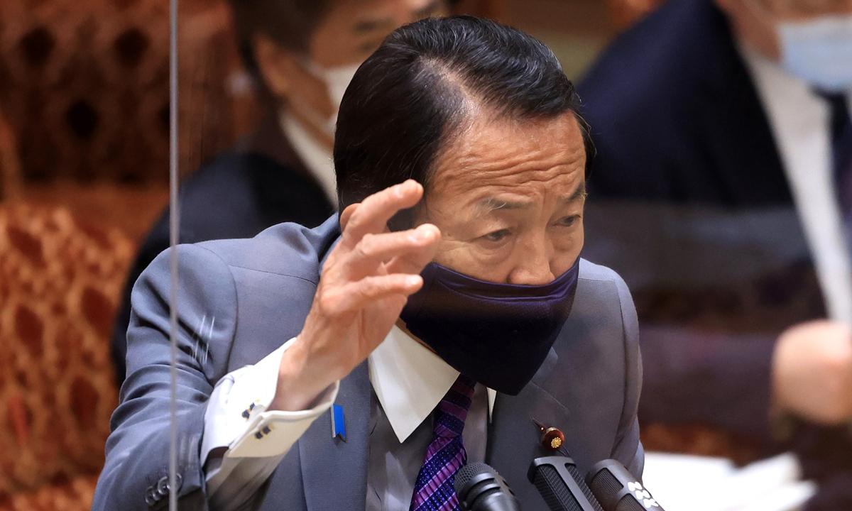 Taro Aso Photo: VCG