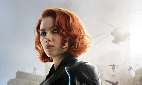 Promotional material for Black Widow Photo: IC