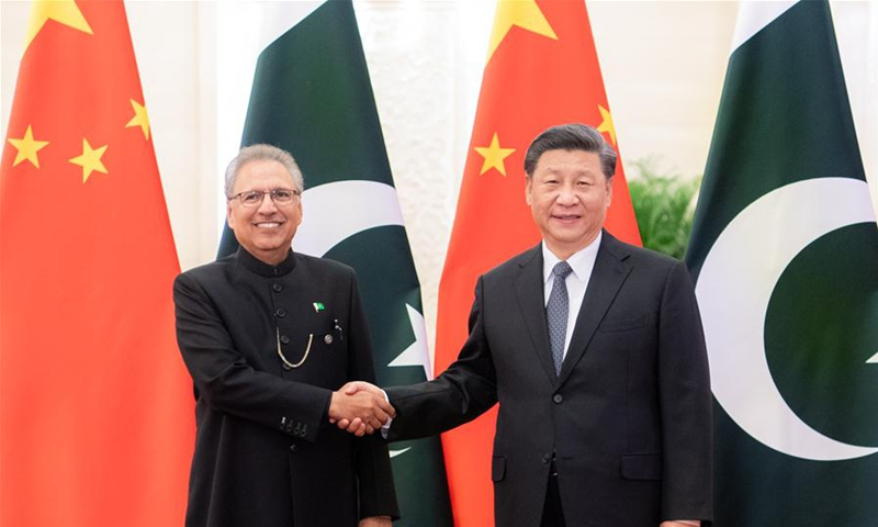 On March 17, 2020, President Xi Jinping hold talks with Pakistani President Arif Alvi at the Great Hall of the People.