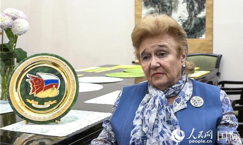 First Deputy Chairperson of the Russia-China Friendship Association Galina Kulikova