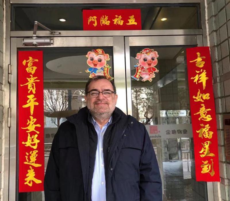 Pablo Rovetta in China