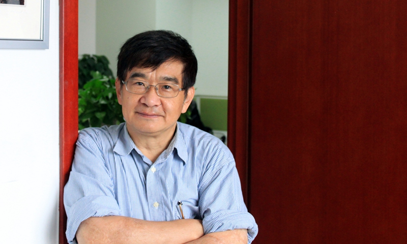 Photo: Wu Chung-I, a professor from the School of Life Sciences at Sun Yat-sen University and director of the Beijing Institute of Genomics under the Chinese Academy of Sciences