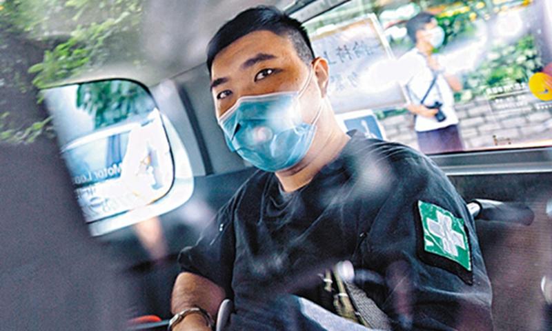 Tong Ying-kit Photo: Ta Kung Pao