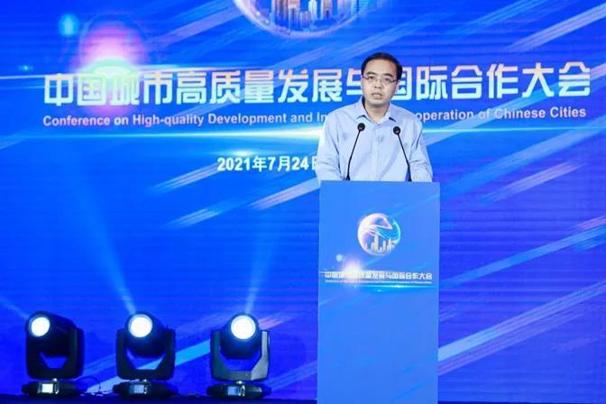 Zhao Hongxing, executive deputy director of the District Innovation work Bureau