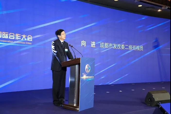 Xiang Jin, the second-level inspector of Chengdu Development and Reform Commission