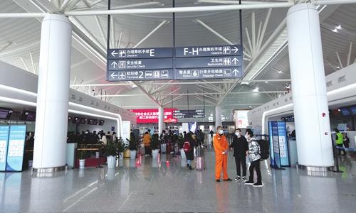A terminal of Nanjing Lukou International Airport in Nanjing, East China's Jiangsu Province Photo: VCG