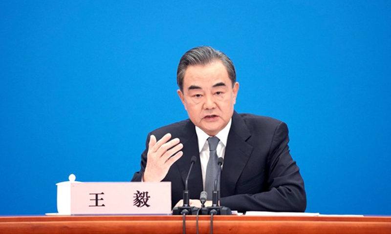 Chinese State Councilor and Foreign Minister Wang Yi File Photo: Xinhua