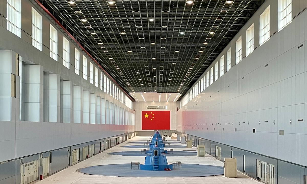 A view of Gezhouba Hydropower Plant. Photo: Lin Xiaoyi/ GT
