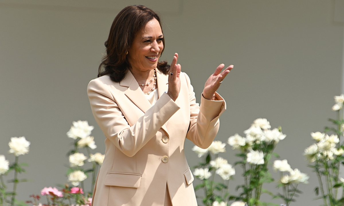 US Vice President Kamala Harris Photo: CFP
