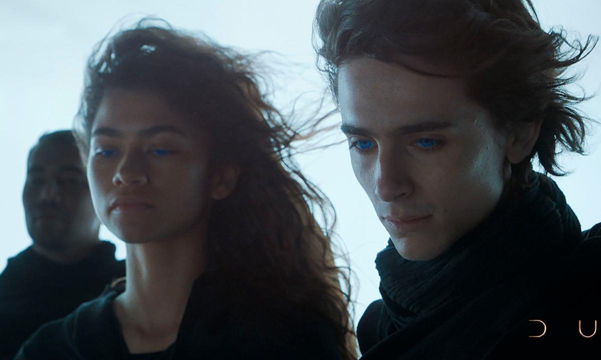 Promotional material for <em>Dune</em> Photos: Courtesy of Maoyan