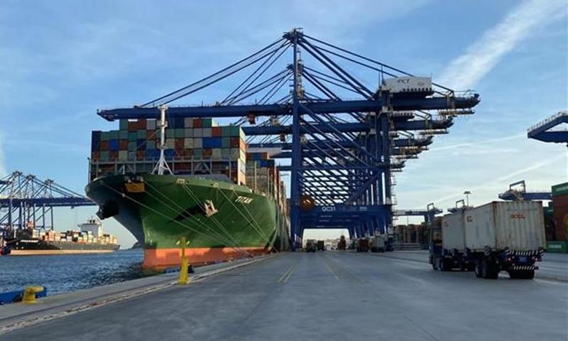 The Piraeus Port