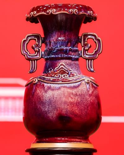 <em>Taihe Zun</em> by handicraft master Kong Xiangqing Photo: Courtesy of Song Yanchao
