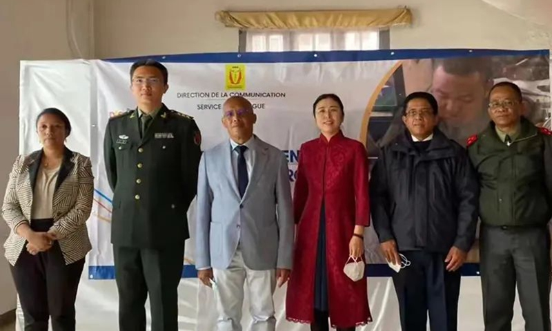 A Chinese language course has been set up at Madagascar's Ministry of National Defense, the Chinese Embassy in Madagascar said in a notice on Monday. Photo: the embassy website