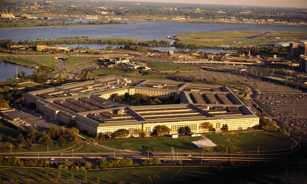A view of the Pentagon.Photo: VCG