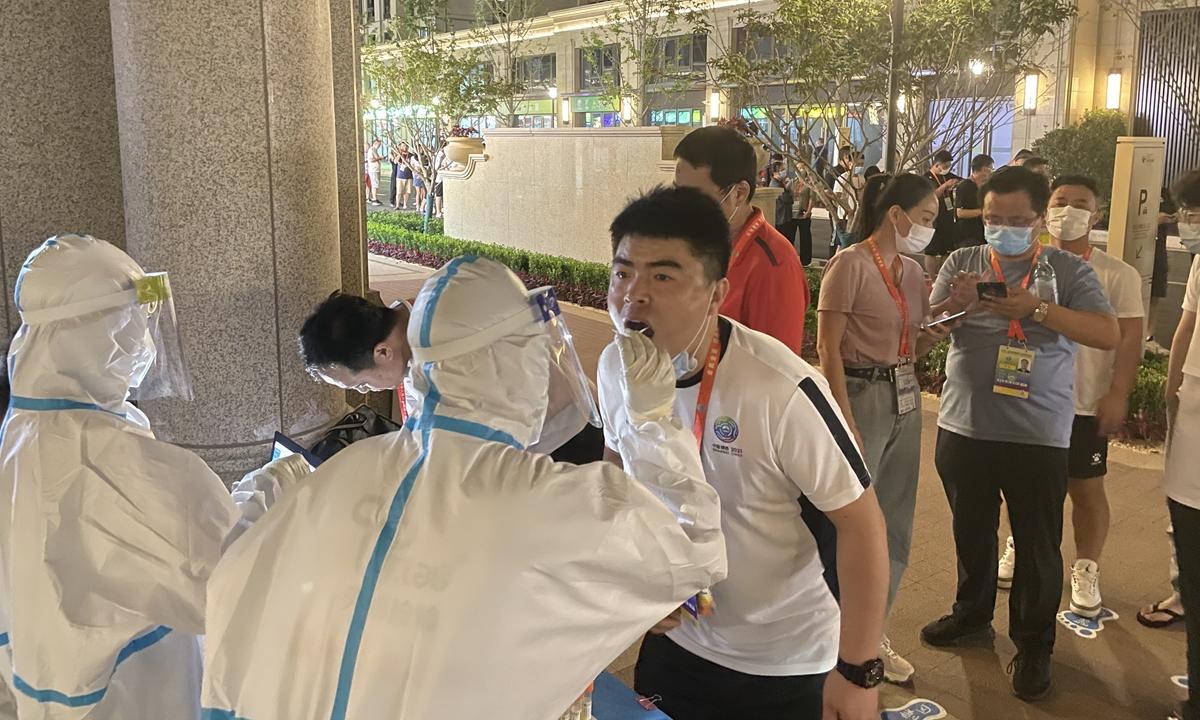 The 14th National Games in Xi'an Photo: Wang Qi/GT