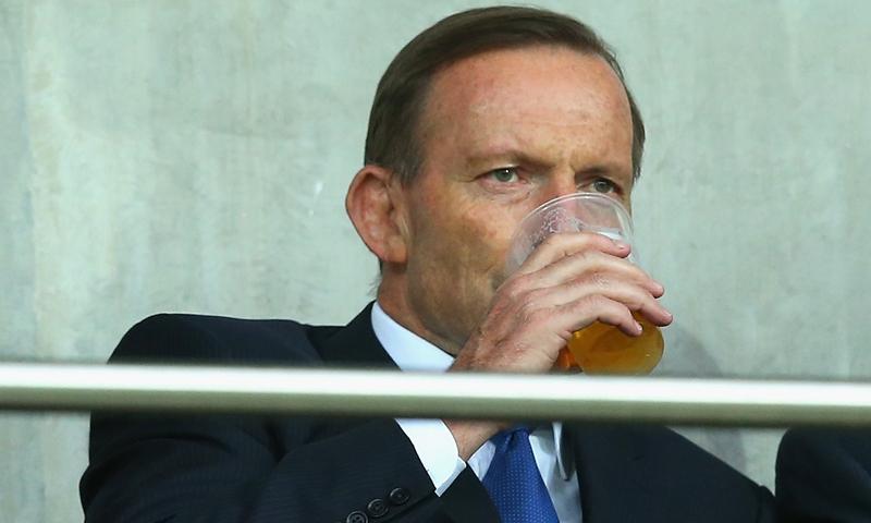 Tony Abbott Photo: VCG