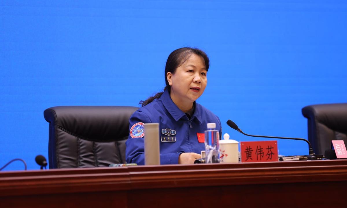 Huang Weifen Photo:Deng Xiaoci/GT